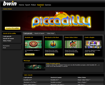 Piccadilly Bwin